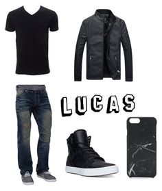 """""""Untitled #26"""" by blonderebel on Polyvore featuring Affliction, Supra, Native Union, Simplex Apparel, men's fashion and menswear"""