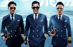 """Chilam Cheung, Louis Koo, and Francis Ng involved in brand new love arcs in the movie version of """"Triumph in the Skies""""."""