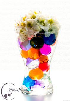 Verspielte Farbkombination mit unseren grossen Waterpearls
