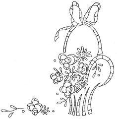 flower basket 5 - love to sew