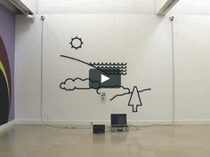 Hektor Draws a Landscape, Lee 3 Tau Ceti Central Armory Show, Villa Arson, Nice, Jürg Lehni and Alex Rich, 2003 Hektor, Jürg Lehni and Uli Franke, 2002 Stepper…
