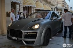 Porsche Cayenne Techart Magnum 2011 in Cannes, France Spotted on by Snitchiez Cayenne S, Cayenne Turbo, Porche Cayenne, Porsche Boxster, Top Cars, Car Manufacturers, Hot Wheels, Luxury Cars, Dream Cars