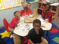 The precious kiddos we feed lunch at Generation One Academy.