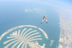 Sky Diving in Dubai. This one will be done by Sept. 2013! Follow us to http://diygods.com