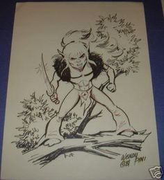 Cutter from Elfquest by Wendy Pini.
