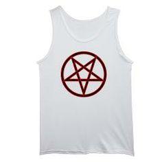 Inverted Pentagram Men's Tank Top> Inverted Pentagram> Route 73 Design and Printing Inc.