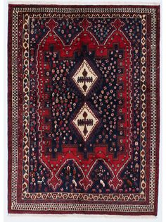 Tapis persans - Afshar  Dimensions:207x150cm