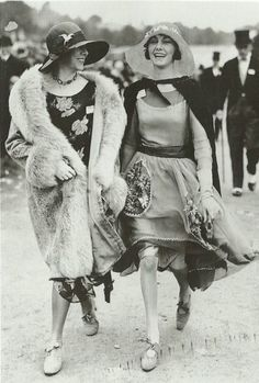 flapper friends. @Barbara Jones, I feel this could be us if we were born a little earlier