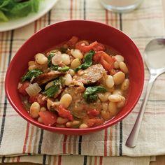 White Bean and Sausage Sauté