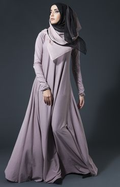 modish and fashionable abaya and hijab for trendy girls . Hijab Fashion 2016, Muslim Women Fashion, Islamic Fashion, Abaya Fashion, Modest Fashion, Womens Fashion, Fashion Outfits, Muslim Dress, Hijab Dress