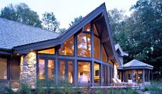 Cool cedar home