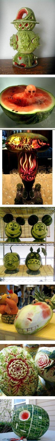 8 creative watermelon artworks 6-28