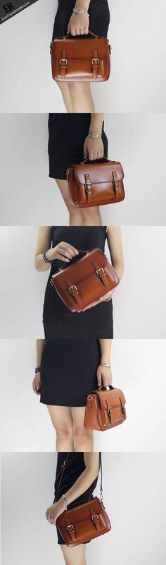 Genuine Leather handbag shoulder bag satchel bag for women