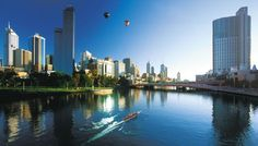 Melbourne is the second largest city in Australia and serves as the capital of the state of Victoria. The city is the cultural capital of Austria as depicted by. Melbourne Australia, Australia Travel, Australia Capital, Oh The Places You'll Go, Places To Visit, Melbourne Skyline, Visit Melbourne, Melbourne Cbd, Les Themes
