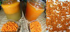 Cătina, regina imunității și remediu anti-îmbătrânire. Iată cum se prepară corect cătina cu miere | Ziarul OnLine Cantaloupe, Cereal, Pudding, Vegetables, Breakfast, Health, Desserts, Food, Beekeeping