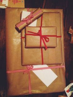 brown paper packages, wrapping presents Wrapping Presents, Brown Paper Packages, Wraps, Packaging, Gifts, Art, Art Background, Wrap Gifts, Presents