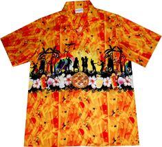 "hawaiian shirt ""Summer Party"" / Original designed by Hawaiihemdshop.de / 100% cotton / coconut buttons"