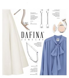 """""""Dafina Jewelry"""" by yexyka ❤ liked on Polyvore featuring Roksanda, Gianvito Rossi and It Cosmetics"""