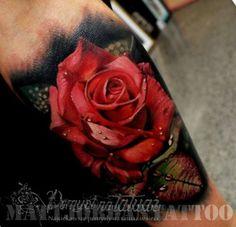 Realistyczna róża, po prostu piękna!