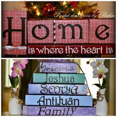Marine Wife, Mommy & Life: Giveaway: Personalized Wooden Blocks by Ta-Daa Decorations! TWO Winners!