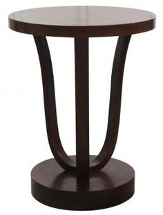 Deco Side table. A Block and Chisel Product.