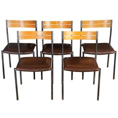 set of ten stacking chairs | thonet/madison at vincent mulford, hudson.