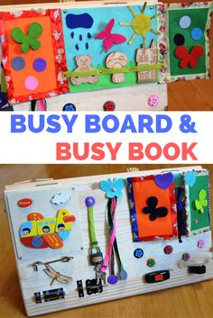 Toy for Travel Educational Toys G-1 BusyBoardToy Sensory Cube Busy Boards for Toddlers Montessori Principles for Natural Learning