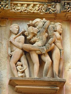 Group of Temples in Khajuraho, also referred to as The Temples of love. India by archer10, via Flickr
