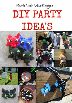 Knot Your Nana's Crochet: How to Train Your Dragon Party Idea's - pin the fire - felt masks and more. Third Birthday, Birthday Fun, Birthday Party Themes, Birthday Ideas, Dragon Birthday Parties, Dragon Party, Toothless Party, Toothless Cake, Hicks Und Astrid