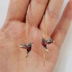 Long Tassel Earrings, Women's Earrings, Cherry Earrings, Rhinestone Earrings, Unique Earrings, Vintage Earrings, Beautiful Earrings, Crystal Rhinestone, Vintage Jewelry