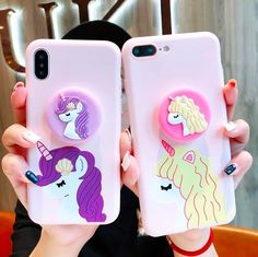 Girl Phone Cases, Cute Phone Cases, Iphone Cases, Iphone 4s, Apple Iphone, Unicorn Birthday Parties, Unicorn Party, Christmas Gifts For Teenagers, Unicorn Phone Case