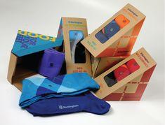 Burlington Sock Packaging design