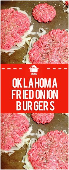 hamburger meat recipes Oklahoma Fried Onion Burgers Home Family Recipes Beef Dishes, Food Dishes, Main Dishes, The Best Burger, Grilling Recipes, Cooking Recipes, Beste Burger, Hamburger Meat Recipes, Best Fried Hamburger Recipe