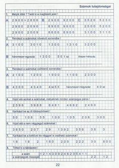 Gyere mesélj! - Képgaléria - Sulis feladat lapok (alsó tagozat) - Kiszámoló 4. osztály Math Class, Math Equations, Words, Horse