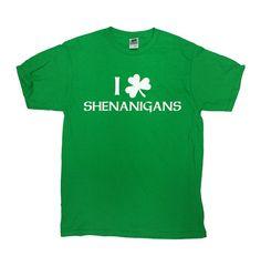 1526e07d St Patricks Day T Shirt Funny Drinking Shirt I Love Shenanigans St Paddys Day  T Shirt Funny Beer T Shirt Beer Lover Mens Ladies Tee - SA560