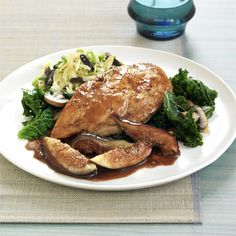 Balsamic Chicken with Figs Recipe