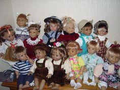 характерные куклы • Dolls Collection by Ludmila Shestopalova on Kolektado