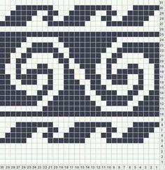 My Account Fair isle. Tapestry Crochet Patterns, Loom Patterns, Beading Patterns, Cross Stitch Patterns, Knitting Charts, Knitting Stitches, Knitting Patterns, Fair Isle Chart, Fair Isle Pattern