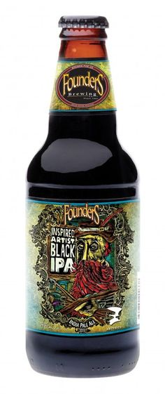 Founders Brewing is releasing Inspired Artist Black IPA in Honor of ArtPrize. Founders is the official brewery of ArtPrize.