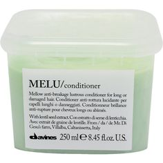Davines Melu Conditioner ($29) ❤ liked on Polyvore featuring beauty products, fillers, green fillers, beauty, cosmetics, fillers - green and colorless