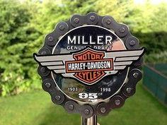 Harley-Davidson Collectibles Rare   Very RARE MGD 95th Anniversiary Harley Davidson Sprocket Beer Tap ...