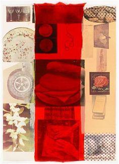 """Robert Rauschenberg - """"FLIRT"""", Color silkscreen"""
