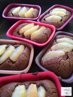 Moelleux Poire chocolat La recette en cliquant sur la photo