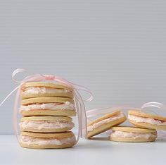 Pink Grapefruit Sandwich Cookies – The Way to His Heart