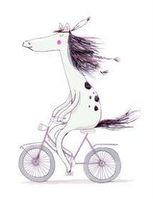 hallo heute: Drahtesel…ähm, pferd