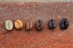 Light, medium or dark roast beans, what's the difference? Find out here. Pic thanks to Mochatheory.