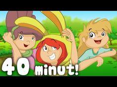 Piosenki dla dzieci – Taniec Zygzak, Kto jak skacze, Hop do góry i inne Wygibasy! Zestaw 40 min - YouTube