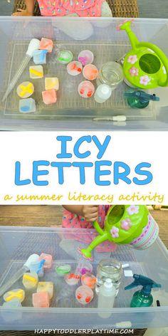 Letter Activities, Toddler Learning Activities, Summer Activities For Kids, Toddler Preschool, Craft Activities, Preschool Crafts, Kids Learning, Crafts For Kids, Preschool Letters