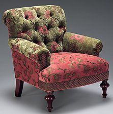 "Middlebury Chair by Mary Lynn O'Shea (Upholstered Chair) (35"" x 32"")"