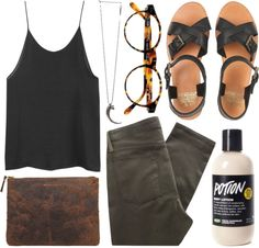 """foliage"" by animagus ❤ liked on Polyvore"